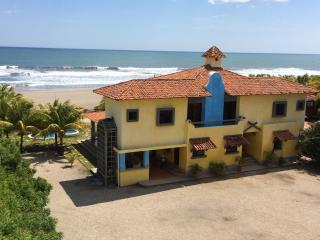 Beachfront Large Spanish Estate. PROMO: BOGO, Car, Pochomil