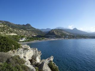 Kirvas Villa - nur 15 Meter vom libyschen Meer!, Ierapetra