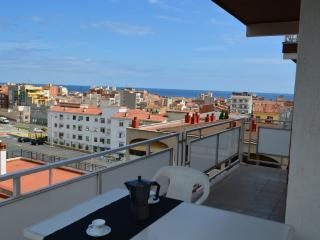 Apartamento con gran terraza con vistas en Calella