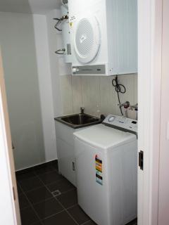 Laundry-Washing Powder and Softener also provided.