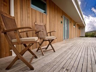 Relax on the rear Deck