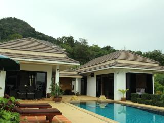 Villa view from the Andaman sea