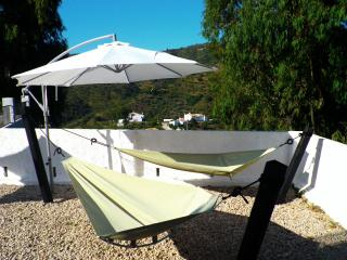 Hammock area by the pool