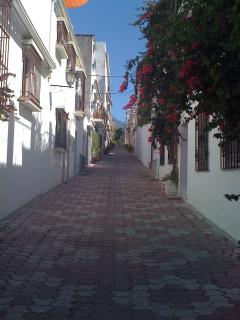 Calle Bermeja - our street in the Old Town of Marbella