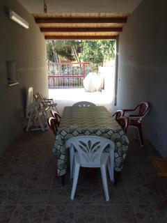 veranda prospettiva sud