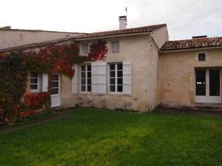 In the heart of the Charente-Maritime, spacious character house with garden, Saint Fort sur Gironde