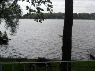 lake view from patio