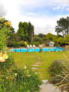 With almost an acre, the Garden has lots of space to relax or to play