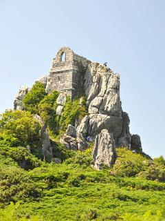 The Hermitage at Roche Rock - popular with walker and climbers