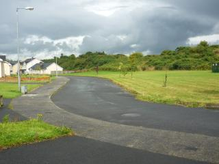 Not overlooked - front view towards village
