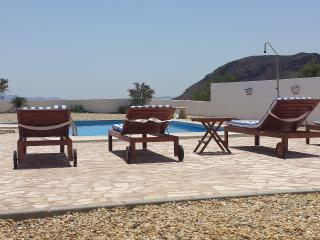 view from the private swimming pool
