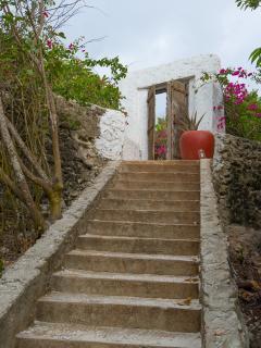 Matemwe Beach House - Entrance