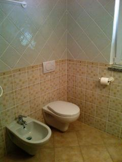 WC und Bidet