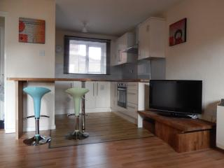 Central town location recent update apartment, Gosport