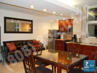 Premium 1 bedroom OV w/kitchen at Royal Garden.