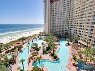 -Gulf Front-Private Balcony-Snowbird  Studio~Shores of Panama 806-Sleeps 3, Panama City Beach