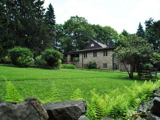 Frank Lloyd Wright Inspired 4-Bedroom Cottage! Sleeps 12! HOT TUB!, Hopwood