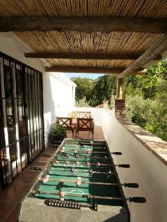 Table football terrace