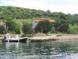 Waterfront holiday cottage Cvita, Dalmatian island, Pasman Island