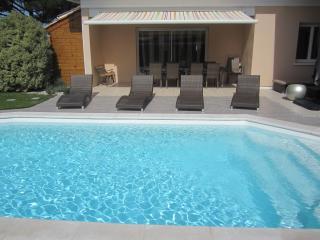 villa proche hossegor piscine privee et chauffee