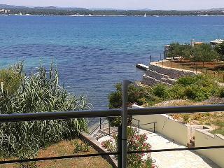 Waterfront holiday rental Villa Tkon on an island