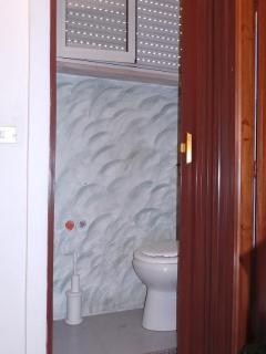 Small WC on the second floor landing