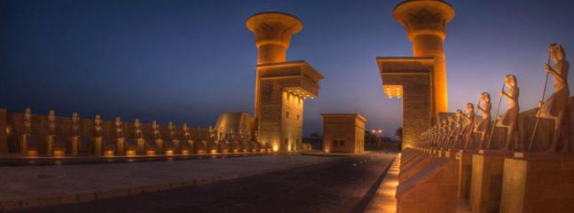 The entrance gates to Sahl Hasheesh