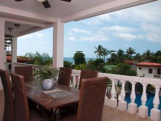 Outside dining balcony