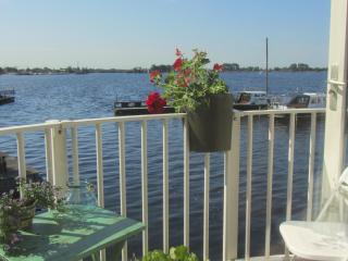Comfy apt. with great lake views near Amsterdam AA, Vinkeveen