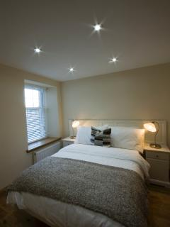 On ground floor, bedroom 4 has a double bed and use of separate downstairs shower room
