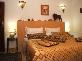 """Riad Aquarelle - La chambre """"Tataoui"""", Marrakech"""