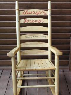 (2) New 'Always & Forever' Rocking Chairs
