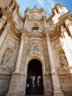 entrance to the cathedral
