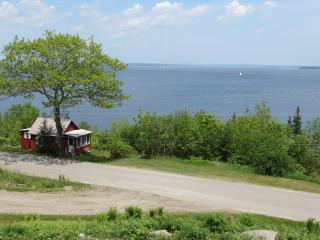 Little Red Cabin in Northport Maine:  Waterfront R