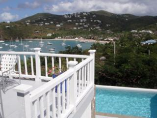Pool and beautiful views, Cruz Bay