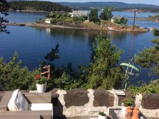 Great seaview, 1th floor of privatehouse & beach near Oslo, Lysaker