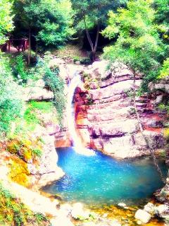 Another natural waterfall in San Fele - Una cascata in San Fele -Basilicata South Italy / Sud Italia