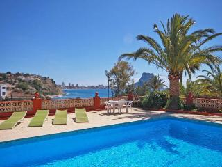 Villa Blanco -  Stunning seaviews only 200 m to the sand beach., Calpe