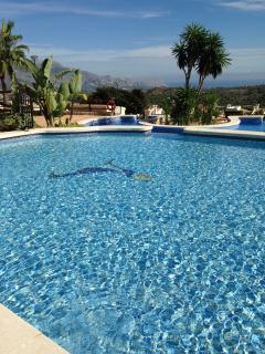 Three pools, recently retiled....