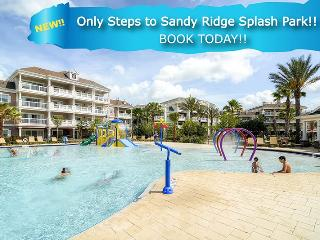 Steps to Splash Park | Ground Floor Condo with Ideal Location in Sandy Ridge, Only Steps to Splash Park, Upgraded Electronics & PS3, Reunion