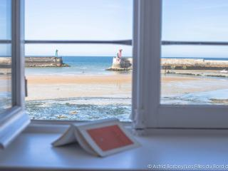 SEA FRONT, D-Day beaches, large & nice house 6p., Port-en-Bessin-Huppain