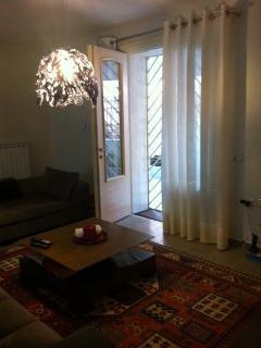 Living Room - french doors to the veranda