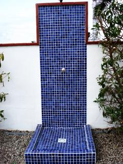Ducha terraza / Outside shower