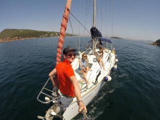 Prens Adaları'nda tekne, Istanbul
