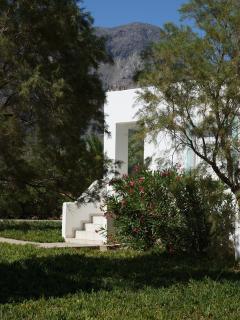 out side of Notos villas