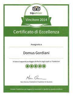 Tripadvisor - certificato di eccellenza 2014