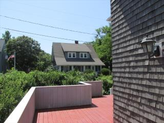 View from 1st floor deck to 100 Pilot%39s Way across street (also available to rent)