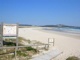 Front. beach apartment , 2 bedrooms+ Garden, Corrubedo