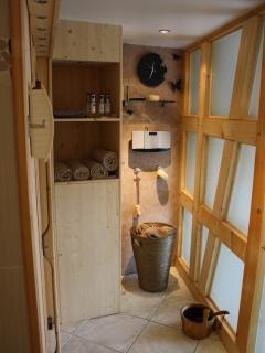 Espace détente - notre sauna
