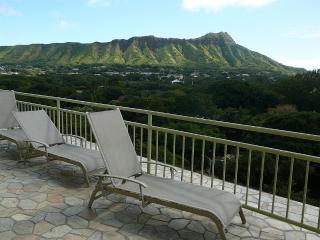 Unobstructed view of Diamond Head from the sundeck